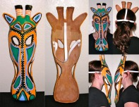 Giraffe Mask - Mask Replication