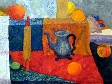 Pointillism Still Life