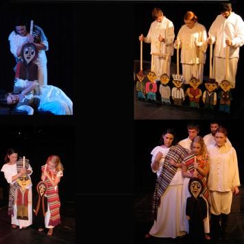 Blanca Nieves Y Los Siete Vaqueritos Production Photo