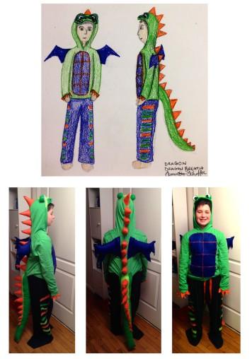 Dragon Breath Costume Design