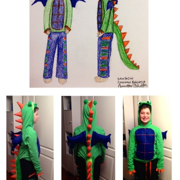 Dragon Breath Costume Design