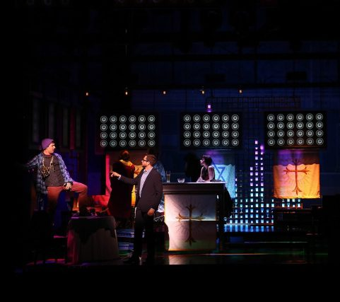 First Date Broadway Production Photo