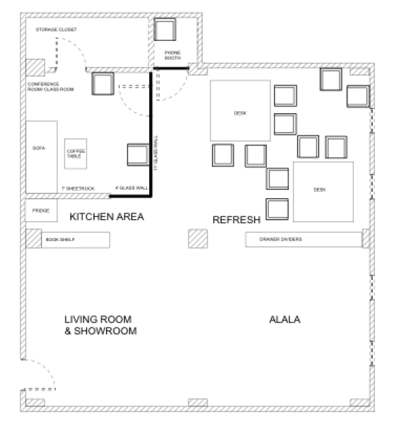 Refresh New Office Floor Plan
