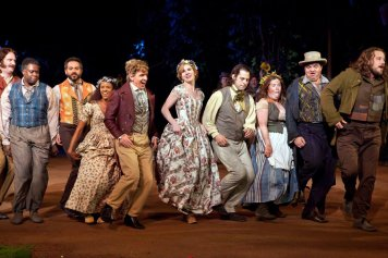 As You Like It Production Photo - Delacorte Theater