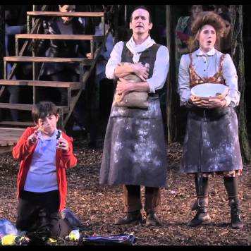 Into The Woods Production Photo - Delacorte Theater