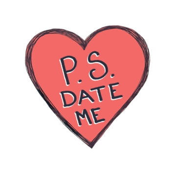P.S. Date Me Logo